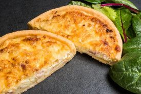 Cheddar Cheese & Smoked Bacon Quiche 160g x 4