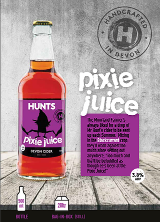 Hunts Pixie Juice Cider 500ml